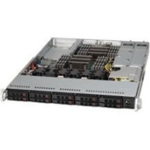 Supermicro 209803 Case Cse-116ac2-r706wb2 1u 10x2.5 Hot-swap Sas/sata Drive Bay Brown Box