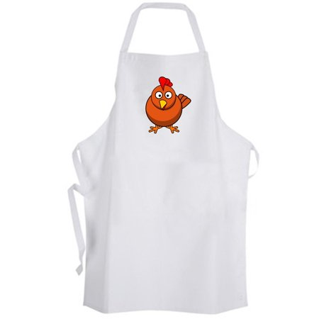 Holiday Print Kitchen Apron (Aprons365 - Lil Orange Chicken Apron Cute Funny Humor Farm Holiday Kitchen Chef)