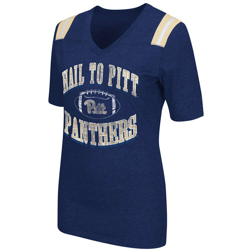 Pittsburgh Panthers Women's Artistic T-Shirt