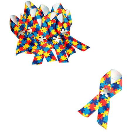 Autism Awareness Jigsaw Puzzle (Autism Awareness Puzzle Ribbon)