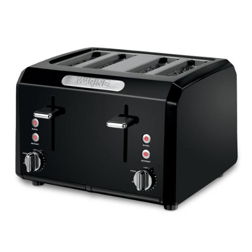 Waring Pro CTT400BK Black 4-slice Cool Touch Toaster