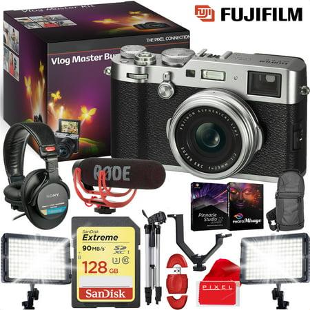 FUJIFILM X100F Digital Camera (Silver) - VLOG MASTER KIT - Microphone](Halloween Day Vlog)