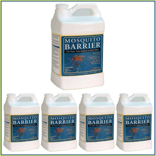 Mosquito Barrier 1-Gallon Liquid Mosquito Repellent Spray (5-Pack)