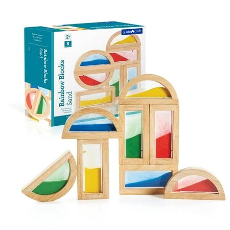 Rainbow Blocks - Sand -