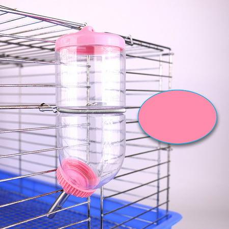 500ML Plastic Leakproof Hanging Water Bottle Dispenser Feeder for Hamster Guinea Pig Rabbit - Oasis Guinea Pig Bottle