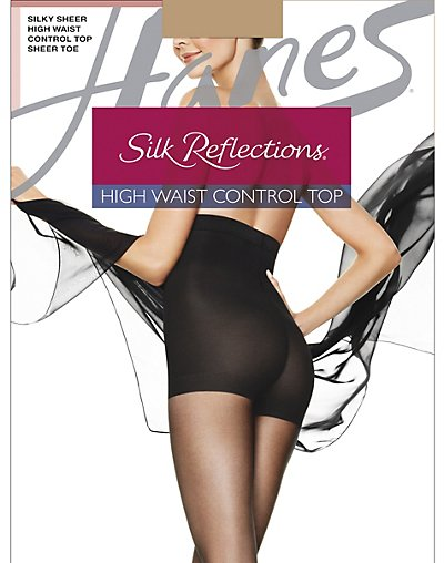 Silky to sheer waist Pantyhose silk