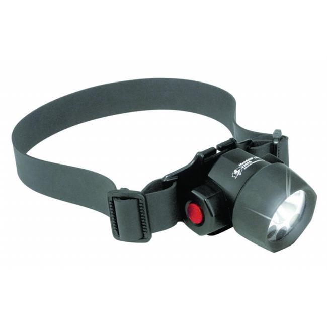 Pelican 562-2620C Headsup 3 Led Headlightw-Cloth & Rubber Straps