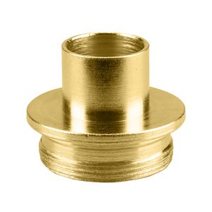 Superior Electric SE3024 Brass Router Template Guide I.D. 21/32 Inch O.D. 3/4 Inch Replaces Porter Cable 42024
