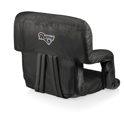 Picnic Time NFL Digital Print Ventura Reclining Stadium Seat with Cushion