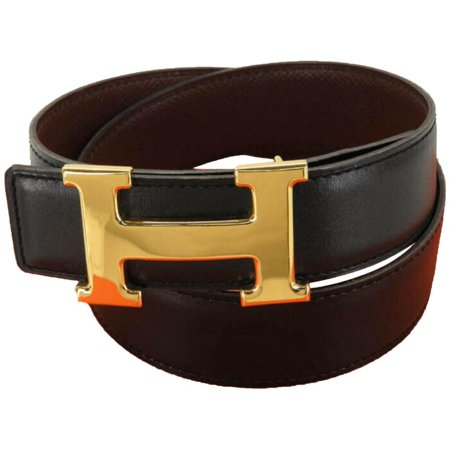 Black Reversible H Logo Kit 870256 Belt