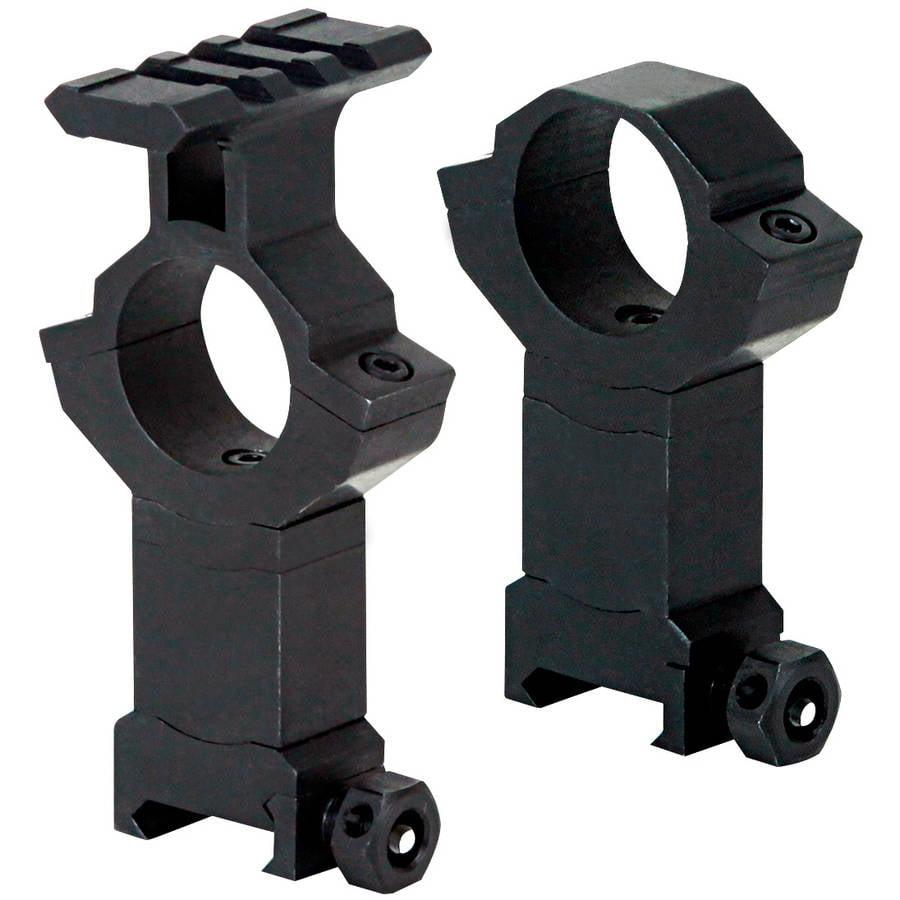 "BSA STS Adjustable-Height Rings, Aluminum, 5/8"" Weaver-Style"
