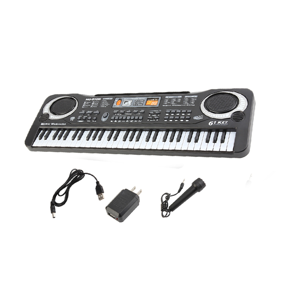 6104 61 Key Kids Piano Keyboard Digital Keyboards For Sale Music Piano Keyboard On Sale... by