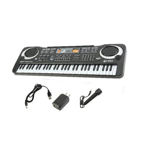 6104 61 Key Kids Piano Keyboard Digital Keyboards For Sale Music Piano Keyboard On Sale For Adults Or Children Beginners Electronic W Mic Organ