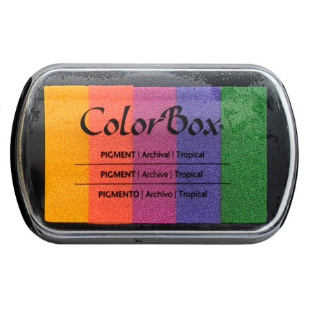 ColorBox Pigment Ink Pad 5 Color Tropical