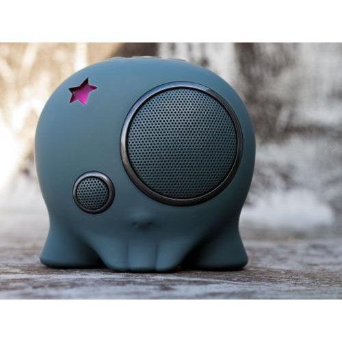 Boombotix BB2-GRY Boombot2 Wireless Portable Speaker, Gunmetal Gray