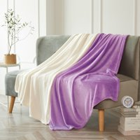 2 Pack Plush Throws by Heritage Club, Available in Multiple Colors