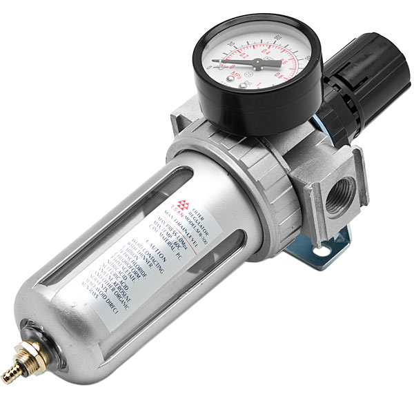 Biltek Air Compressor Filter with Regulator Water Trap Filter Pressure Air Tools Oil