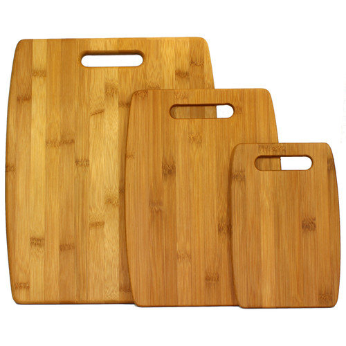 Oceanstar 3-Piece Bamboo Cutting Board Set CB1156