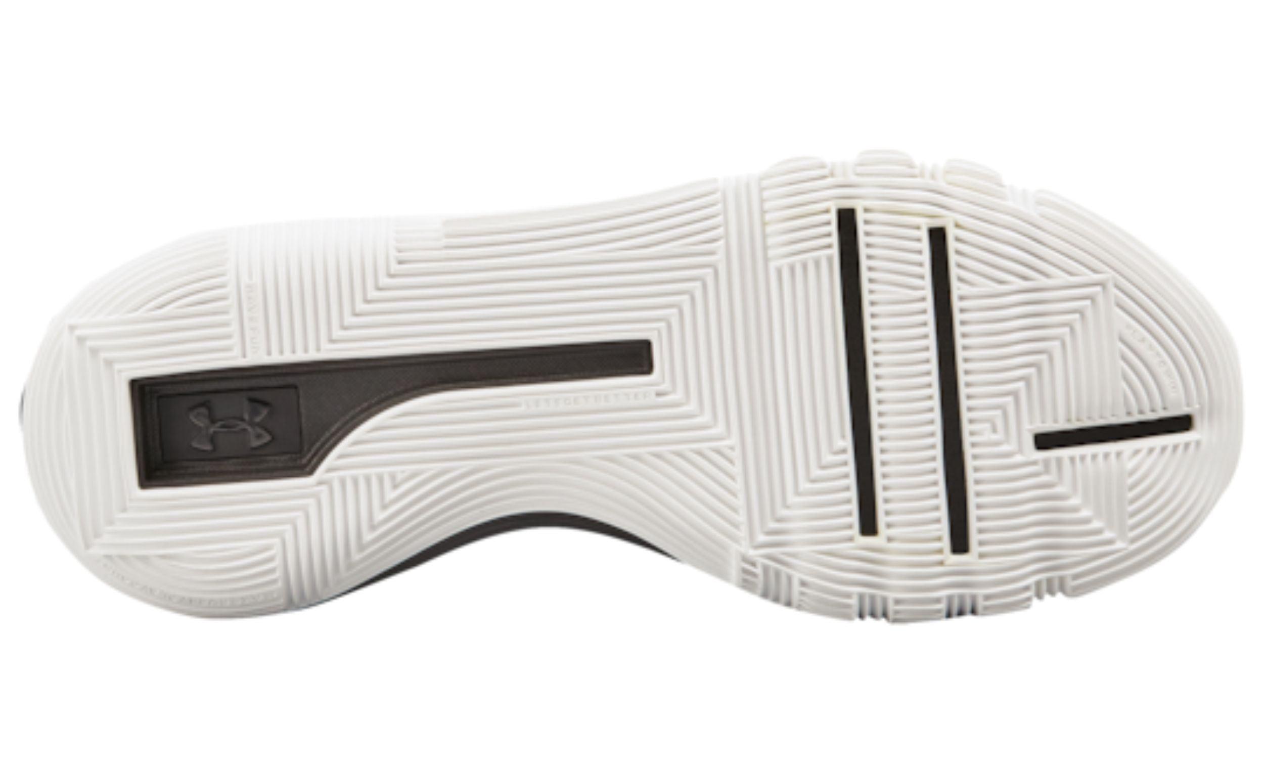 700744d235e Under Armour UA SC 3ZER0 II Men s Basketball Shoes Black White 3020613-001  (8.5 D(M) US) - Walmart.com