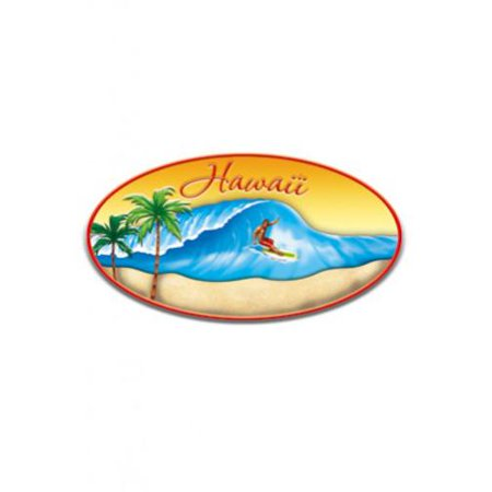 Paradise Surf Sign - Hand-Painted Magnet, Surf Paradise