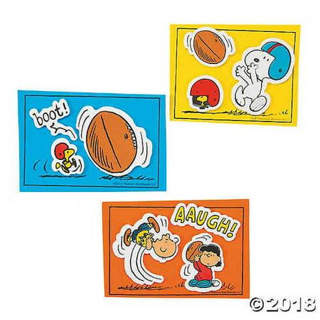 Peanuts® Football Kick Magnet Craft Kit