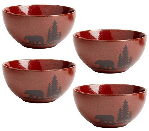 Natureu0027s Home Bear Lodge Dinnerware Soup/Cereal Bowls 6.25-Inch Stoneware  sc 1 st  Walmart & Natureu0027s Home Bear Lodge Dinnerware Soup/Cereal Bowls 6.25-Inch ...