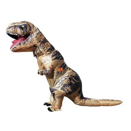 Secondskin Mega Suit Inflatable Zentai Costume   T Rex Dinosaur