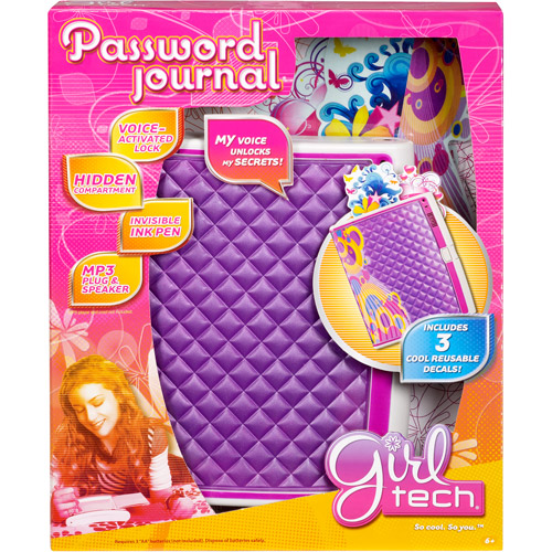 Girl Tech Password Journal