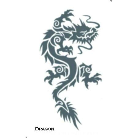 Tattoo Tribal Dragon ()