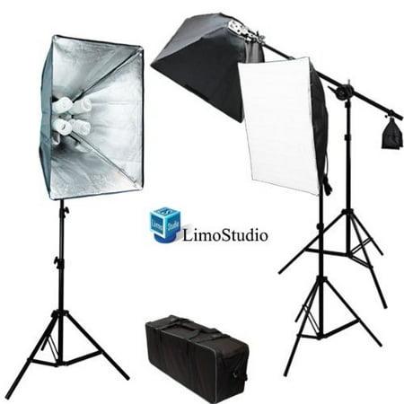 Limostudio Photo Video Studio 2400 Watt Softbox Continuous Light Kit