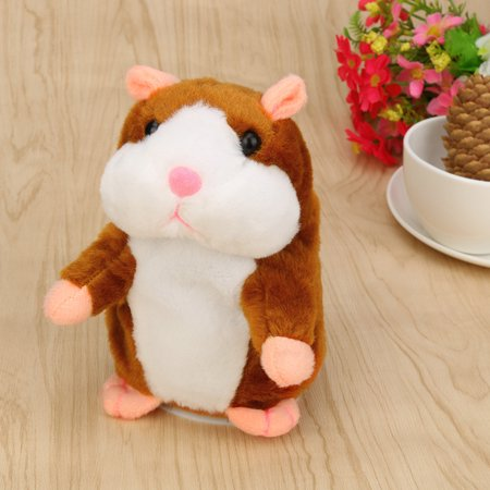 - Adorable Talking Record Hamster Mouse Plush Kids Toys