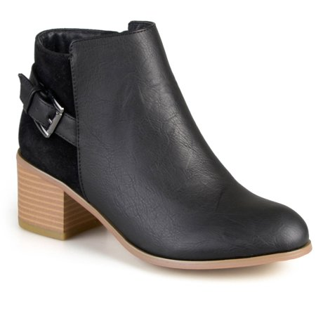 Women's High Heel Buckle Ankle Booties
