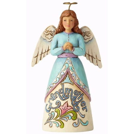 Jim Shore Angel Spring - Jim Shore Always Believing and Loving Grandmother Angel Figurine 4057686 New