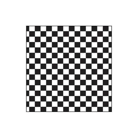 Canvas Corp Paper 12x12 Black White Big Check (15 (12x12 Inch Paper 2 Sheets)