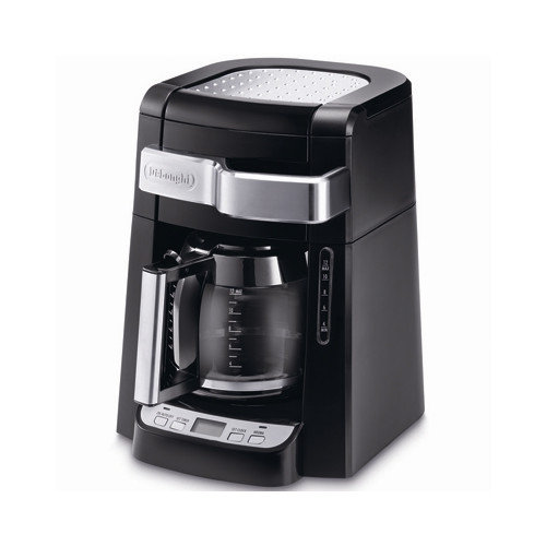 Delonghi 12-Cup Programmable Drip Coffee Maker, DCF112