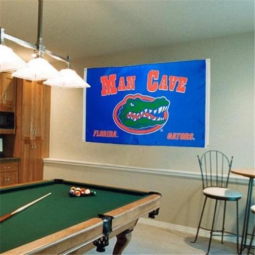 BSI PRODUCTS 35609 Man Cave 3 Ft.  X 5 Ft.  Flag with  4 Grommets - Florida Gators