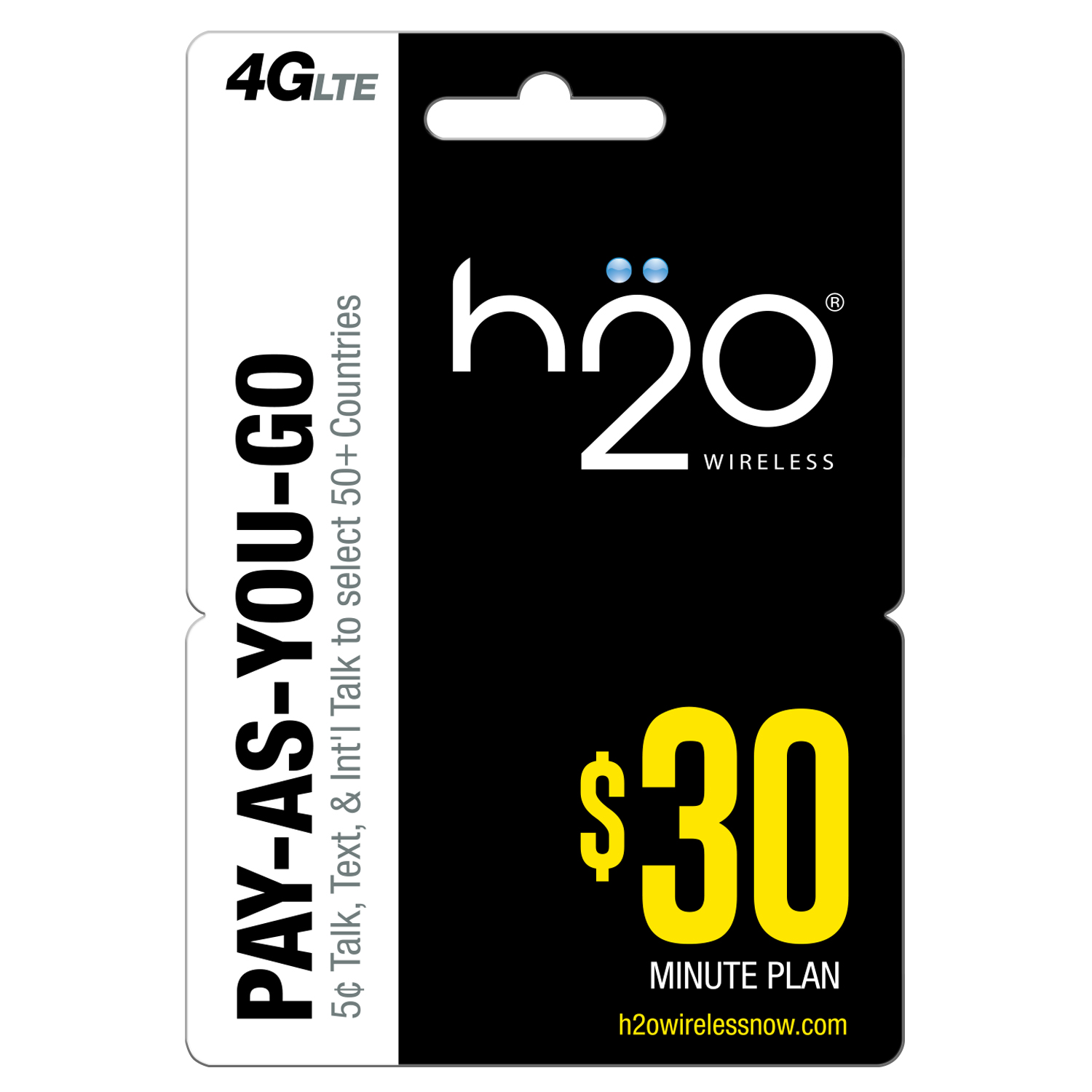 H20 Wireless Pay as You Go $30 (Email Delivery)