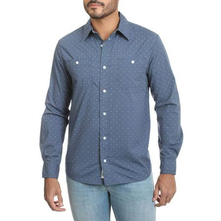 Wrangler Mens premium slim fit printed shirt