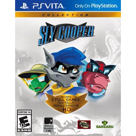 Sony Sly Cooper Collection - Action/adventure Game - Ps Vita (22159) Sanzaru (Best Games To Play On Ps Vita)