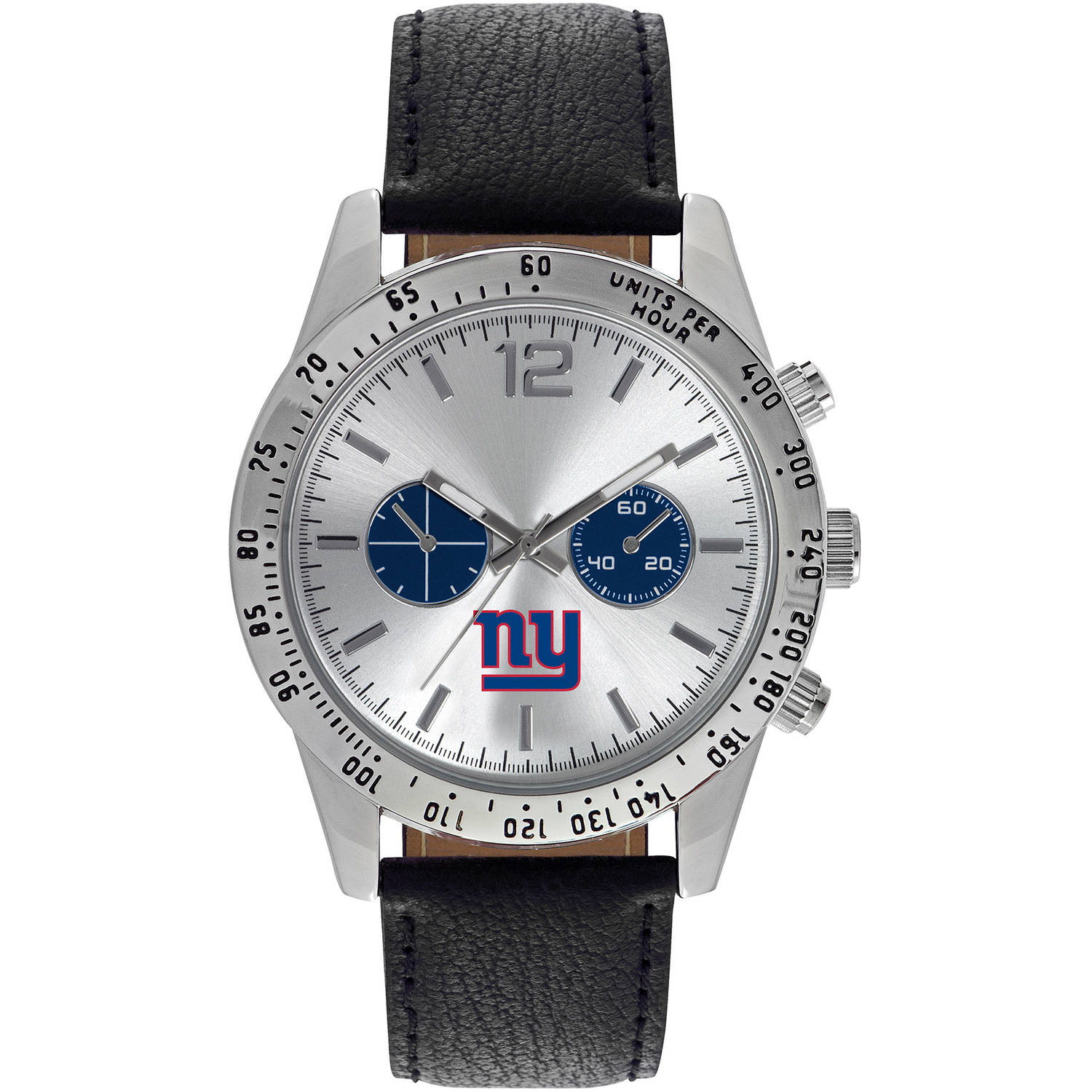 Game Time NFL Men's New York Giants Letterman Series Watch