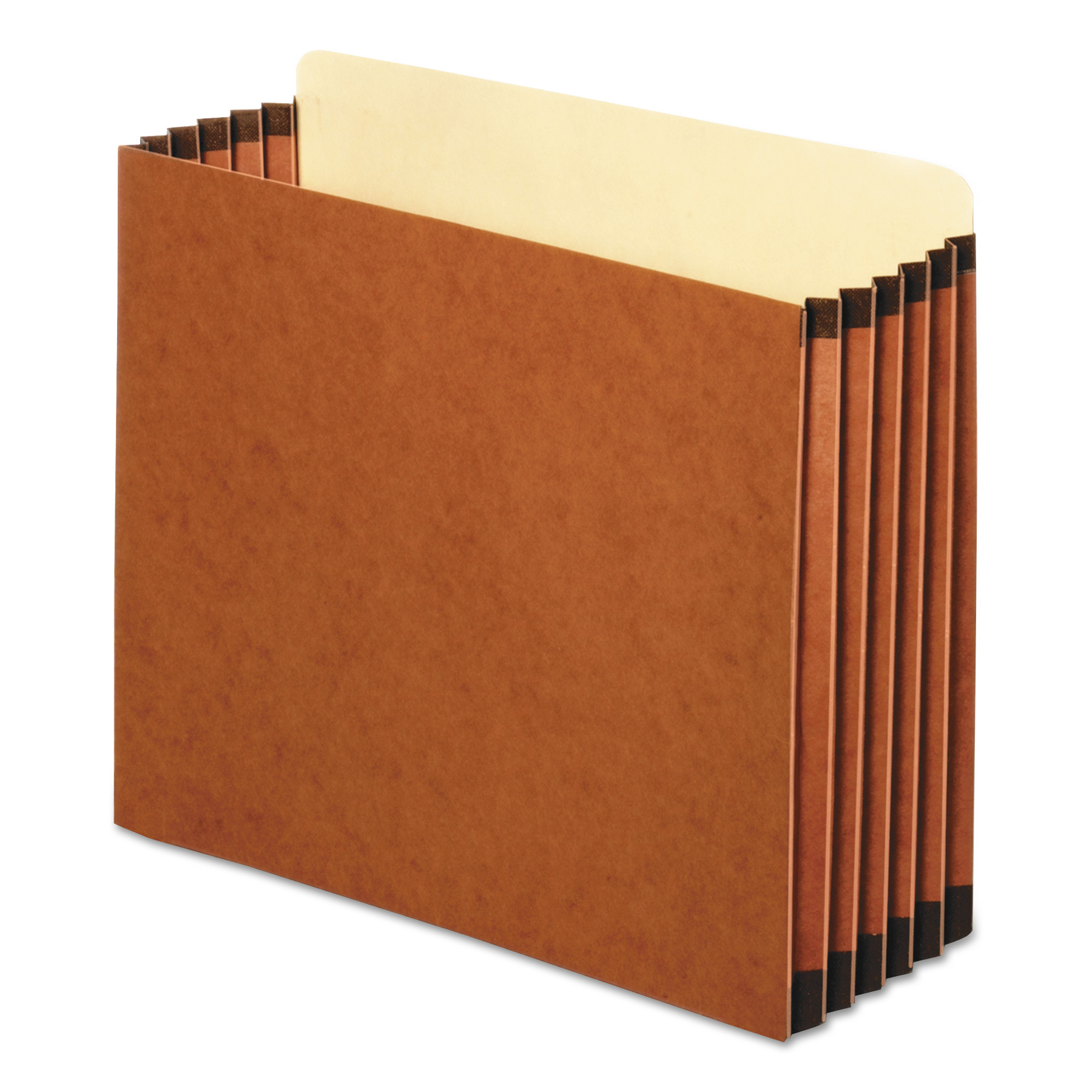 Pendaflex File Cabinet Pockets, Straight Cut, 1 Pocket, Letter, Redrope -PFXFC1534P