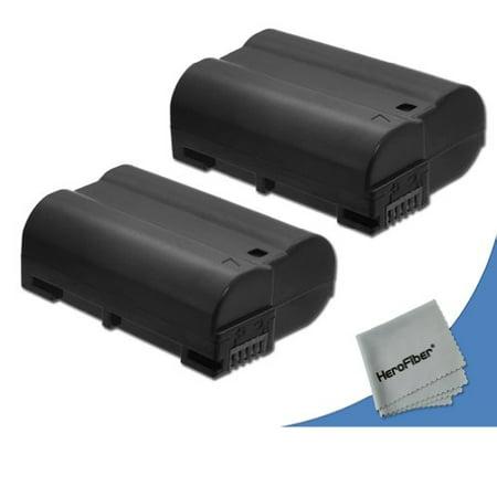 2 Nikon D7100, D7200 Batteries Replacement by Xit of Nikon (The Hut Deals)