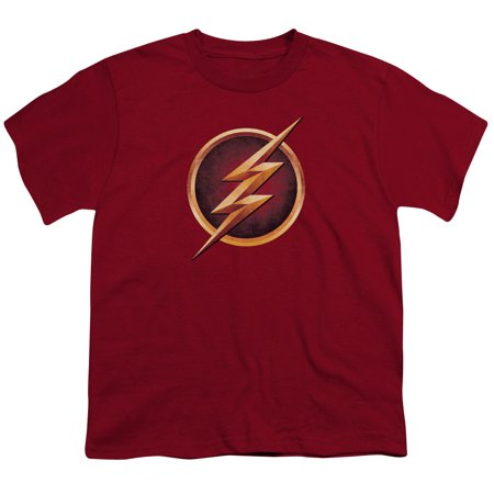 Trevco THE FLASH CHEST LOGO Cardinal Child Unisex - The Flash Kids