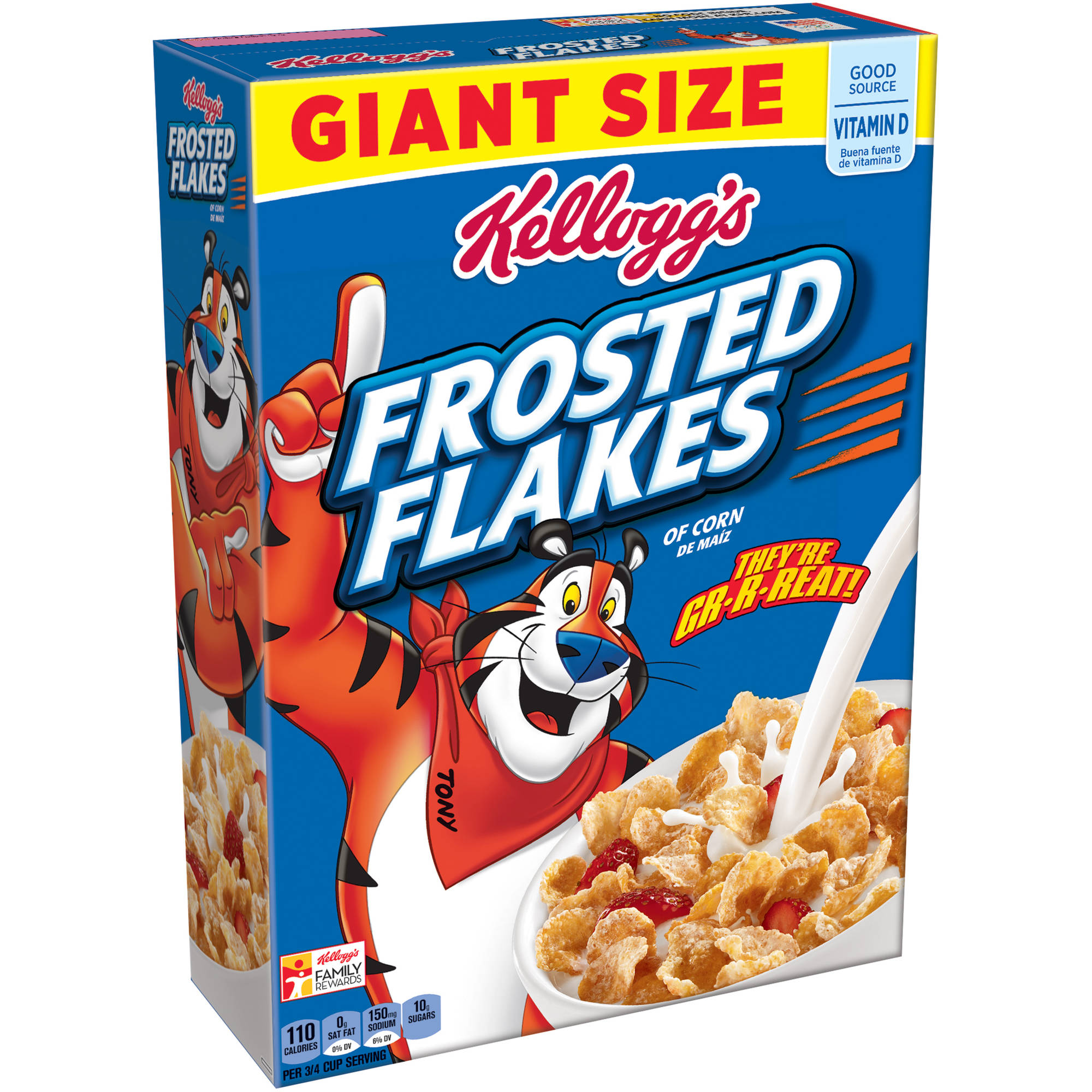 Kellogg's Frosted Flakes Cereal Giant Size, 33 ounce