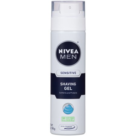 (2 pack) NIVEA Men Sensitive Shaving Gel 7 oz.