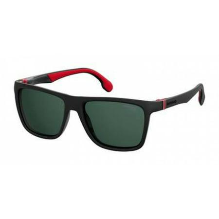 Carrera CARRERA 5047/S 0807-QT Black Rectangle (Carerra Sun Glasses)