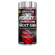 Hardcore Next Generation Weight Loss and Extreme Sensory Capsules, 100 Count