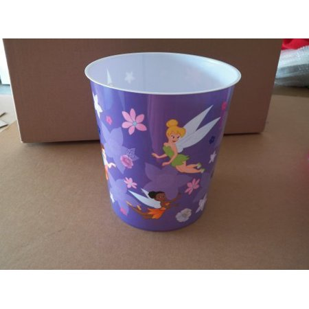 Disney Tinkerbell and Fairy Plastic Trash Can