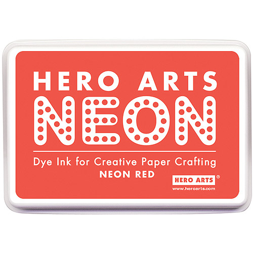 Hero Arts Neon Ink Pad, Red