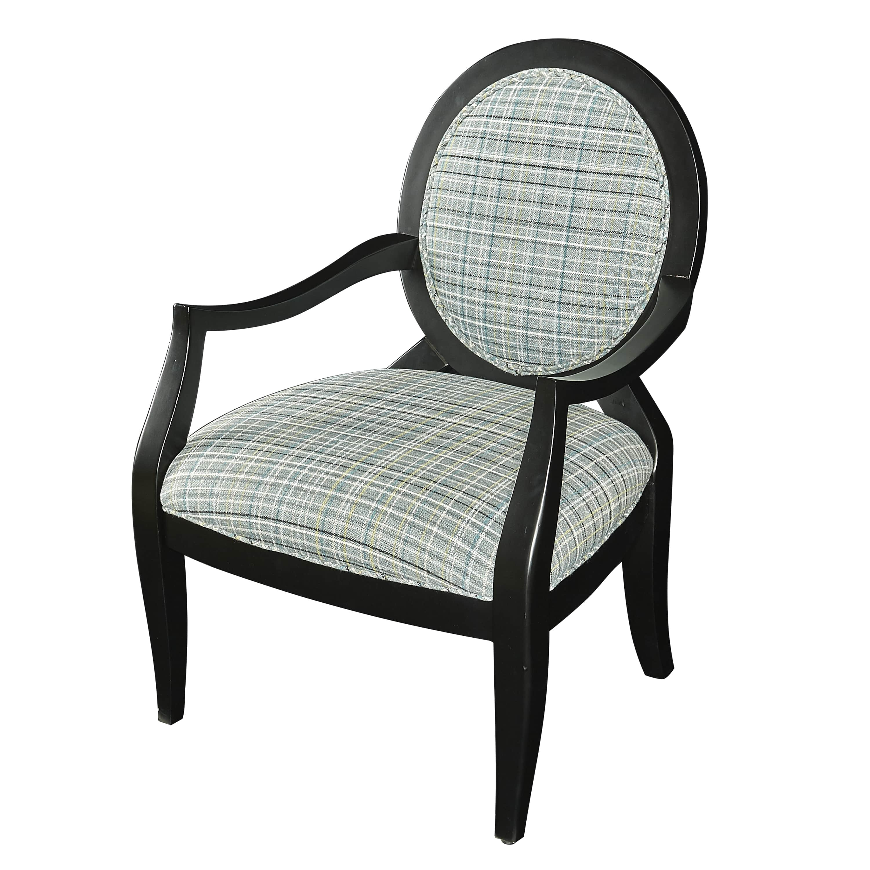 Powell Belle Accent Chair, Cherry by Powell